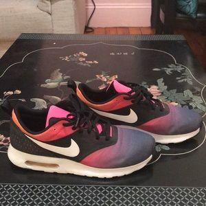 Rainbow Colored Nike Air Max Tavas. Mns Sz 8